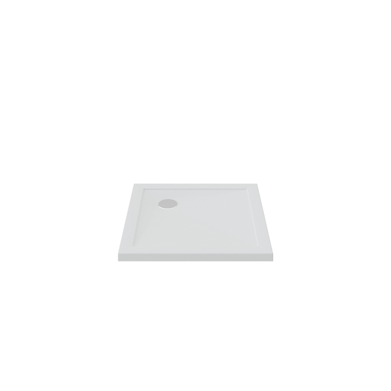Bruynzeel douchebak 80x80x4 cm, wit