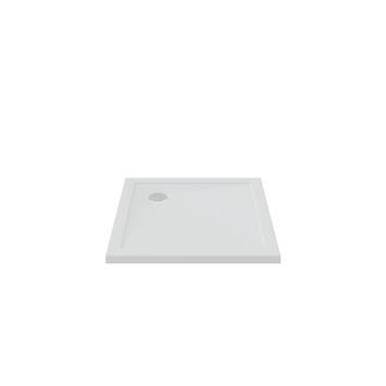 Bruynzeel douchebak inbouw wit 90x90x5 cm