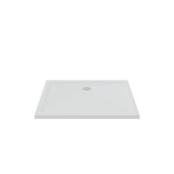 Bruynzeel douchebak inbouw wit 120x90x5 cm