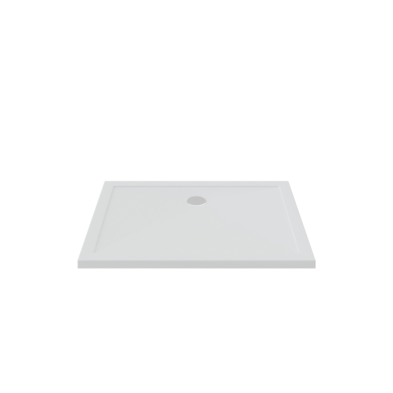 Bruynzeel douchebak 120x90x4 cm, wit