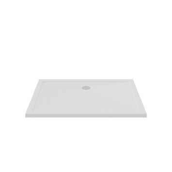 Bruynzeel douchebak inbouw wit 140x90x5 cm