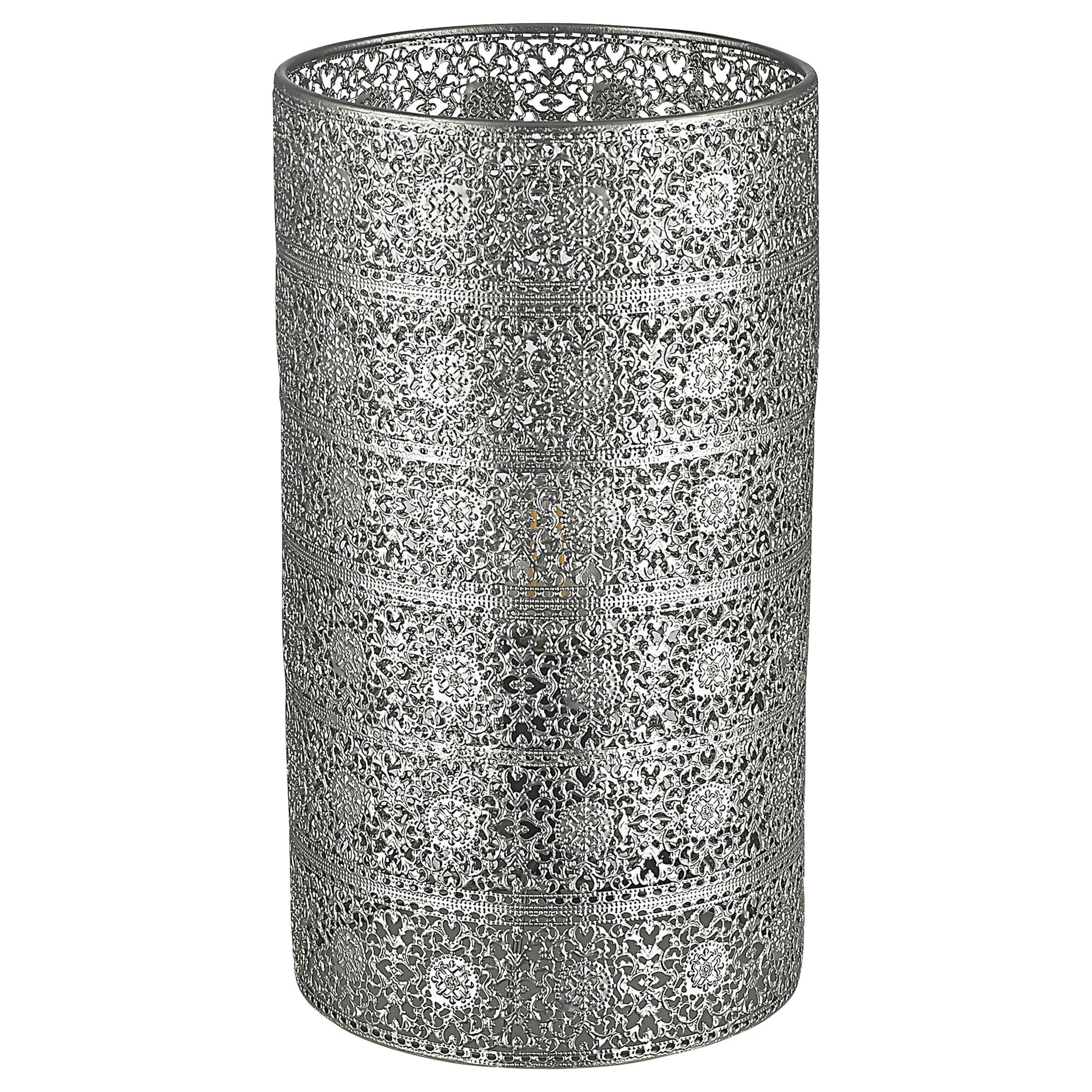 Tafellamp Aisha zilver
