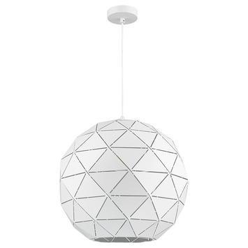 Hanglamp Niels metaal wit