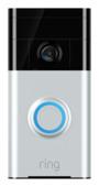 RING Video Doorbell 1 Zilver