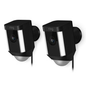 Ring Spotlight Cam Battery - Zwart - Duopack
