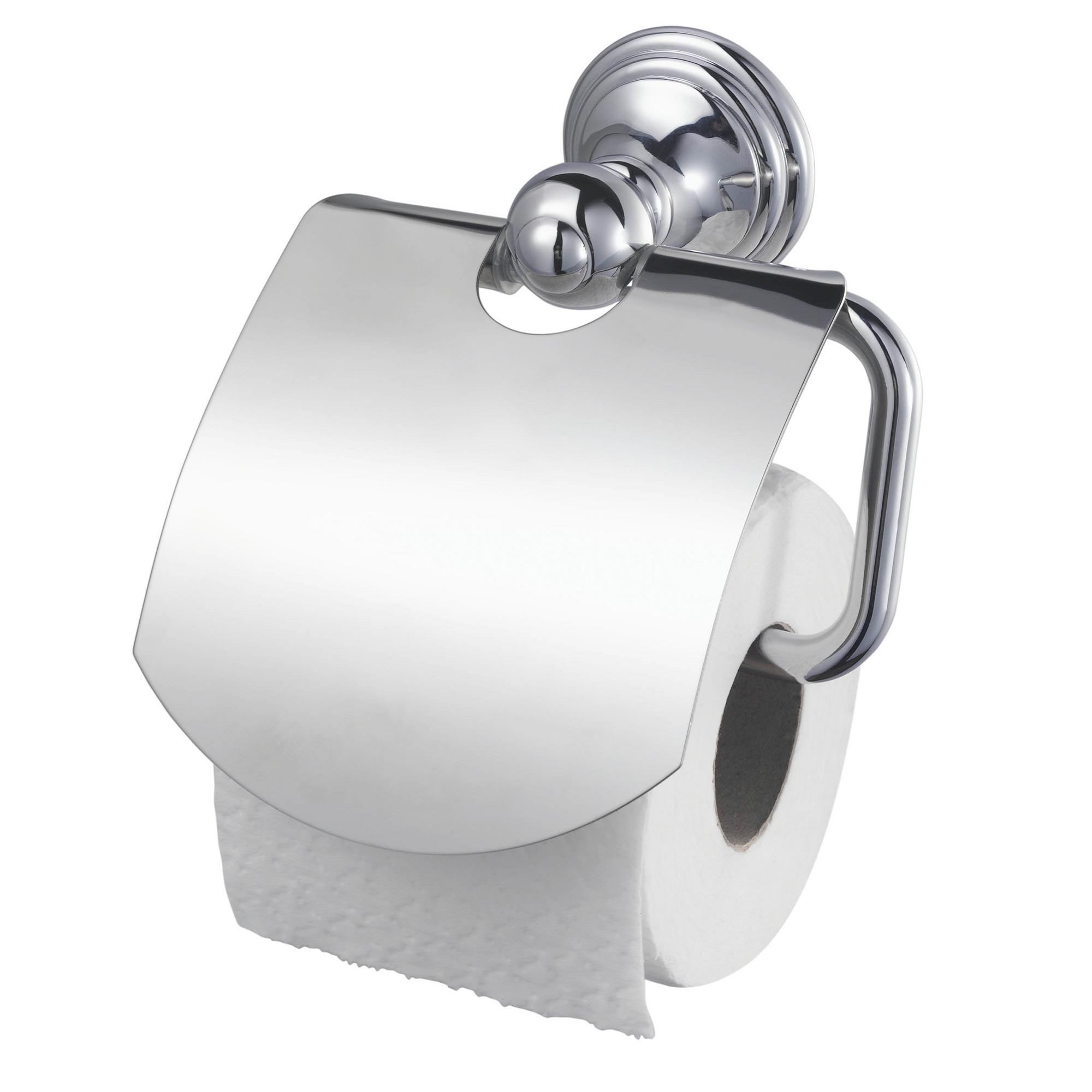 Haceka Allure toiletrolhouder met klep