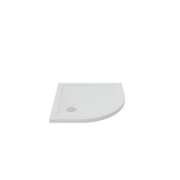 Bruynzeel douchebak inbouw kwartrond wit 100x100 cm
