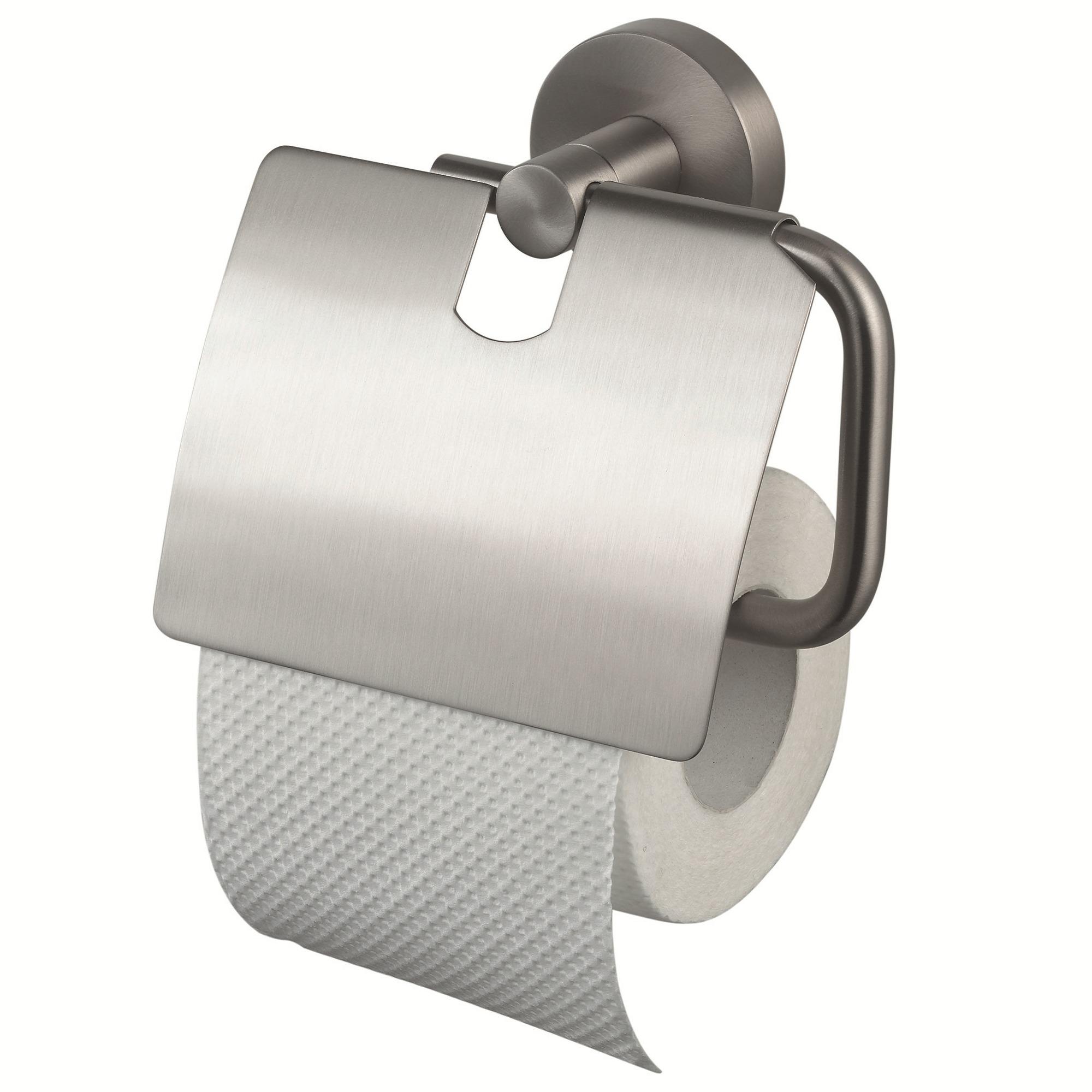 Haceka Kosmos TEC toiletrolhouder met klep