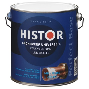 Histor Perfect base grondverf wit 2,5 liter