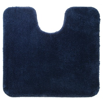 Sealskin WC mat Angora Blauw 60x55 cm