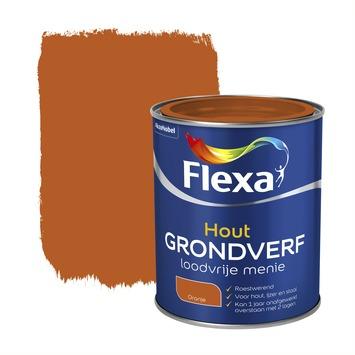 Flexa loodvrije menie metaal oranje 750 ml