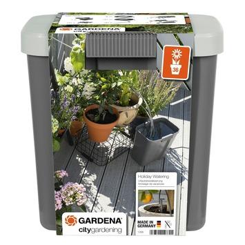 Gardena vakantiebewateringsset + 9 liter voorraadvat