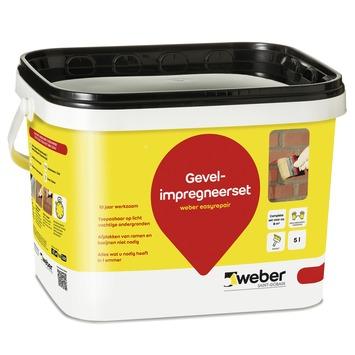Weber gevel impregneerset 5 liter