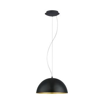 EGLO hanglamp Gaetano zwart/goud