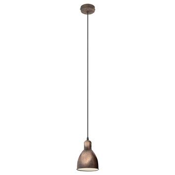 EGLO hanglamp Priddy koper 1-lichts