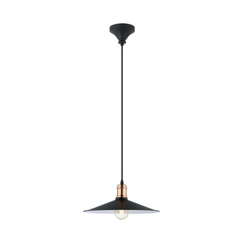 Eglo hanglamp Bridport zwart
