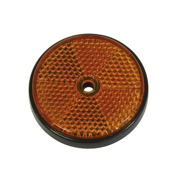 Carpoint reflector rond oranje 2 stuks