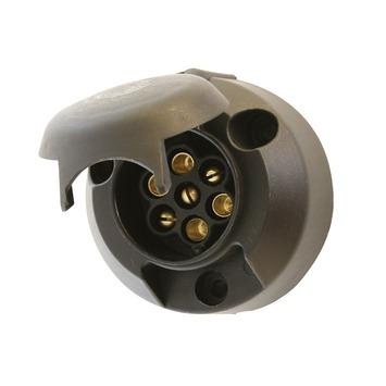 Carpoint 7-polige stekkerdoos kunststof