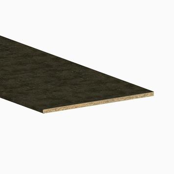 Innova keukenwerkblad AS19 donker beton 2050x600x19 mm