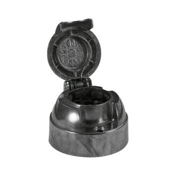 Carpoint 7-polige stekkerdoos metaal