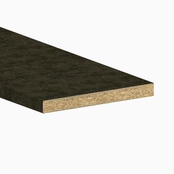 Innova keukenwerkblad AS58 6521 MP donker beton 2650x600x58 mm