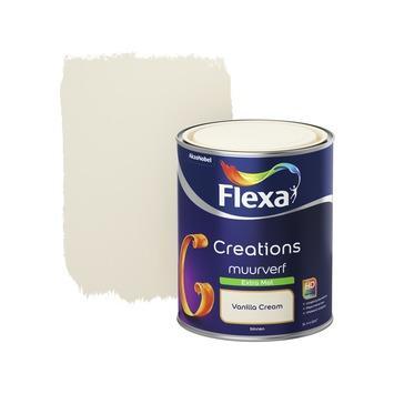 Flexa Creations muurverf vanilla cream extra mat 1 liter