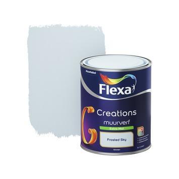 Flexa Creations muurverf frosted sky extra mat 1 liter