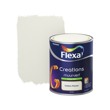 Flexa Creations muurverf cotton flower extra mat 1 liter