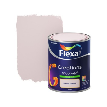 Flexa Creations muurverf sweet desire extra mat 1 liter
