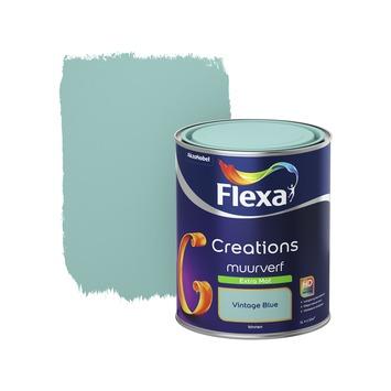 Flexa Creations muurverf vintage blue extra mat 1 liter