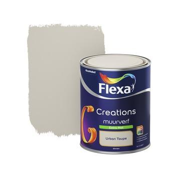 Flexa Creations muurverf urban taupe extra mat 1 liter