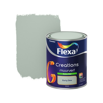 Flexa Creations muurverf early dew extra mat 1 liter