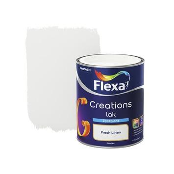 Flexa Creations lak fresh linen zijdeglans 750 ml