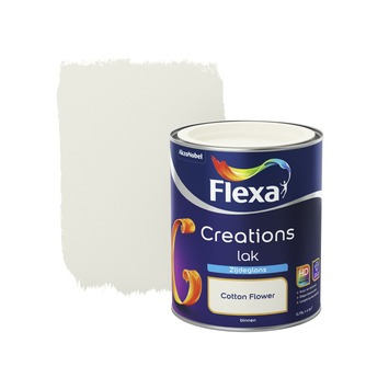 Flexa Creations lak cotton flower zijdeglans 750 ml