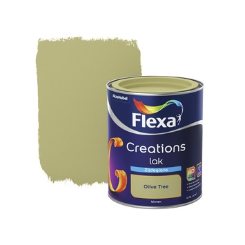 Flexa Creations lak olive tree zijdeglans 750 ml