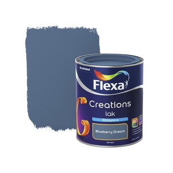 Flexa Creations lak blueberry dream zijdeglans 750 ml