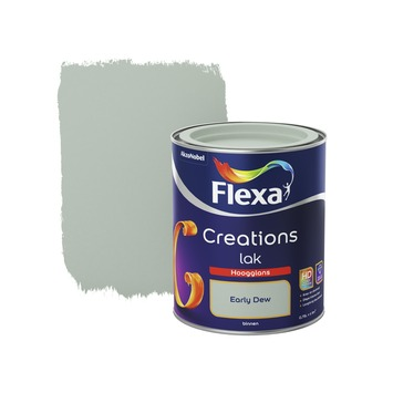 Flexa Creations lak early dew hoogglans 750 ml