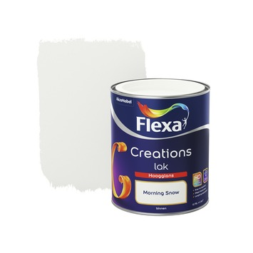 Flexa Creations lak morning snow hoogglans 750 ml