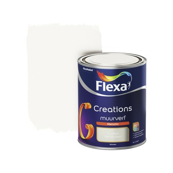 Flexa Creations muurverf crystal reflection metallic 1 liter