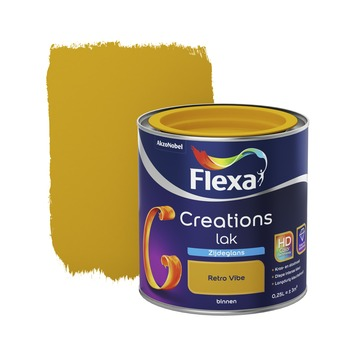 Flexa Creations binnenlak retro vibe zijdeglans 250 ml