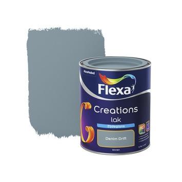 Flexa Creations binnenlak denim drift zijdeglans 750 ml