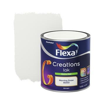 Flexa Creations binnenlak morning snow extra mat 250 ml