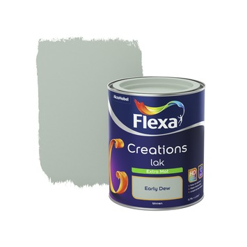 Flexa Creations binnenlak early dew extra mat 750 ml