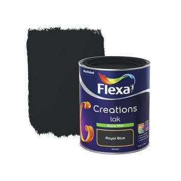 Flexa Creations binnenlak royal blue extra mat 750 ml