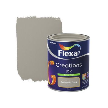 Flexa Creations binnenlak authentic grey extra mat 750 ml