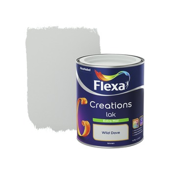 Flexa Creations binnenlak wild dove extra mat 750 ml