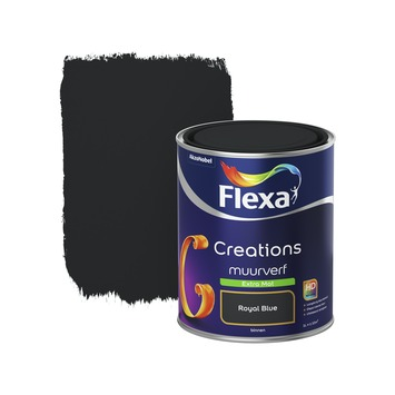 Flexa Creations muurverf royal blue extra mat 1 liter
