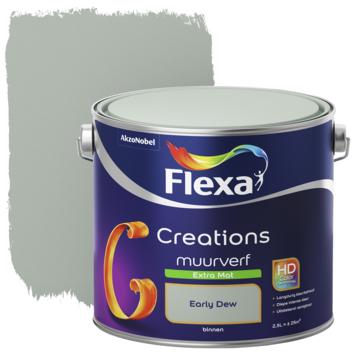 Early Dew Flexa.Flexa Creations Muurverf Early Dew Extra Mat 1 Liter