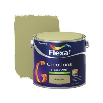Flexa Creations muurverf olive tree extra mat 2,5 liter