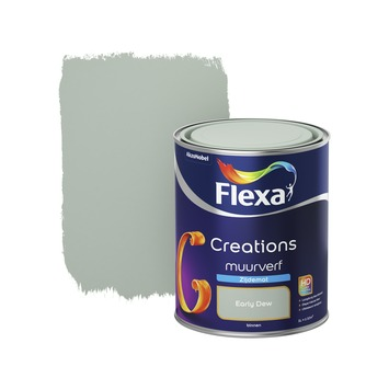 Flexa Creations muurverf early dew zijdemat 1 liter